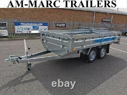 New Car Trailer Flat Bed 3m x 1.5m Twin Axle 750kg