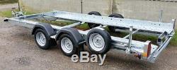New Woodford STT 070 Twin Axle Car Transporter Trailer 14' x 6'1
