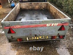 Not ifor Williams twin axle builders camping gardening trailer