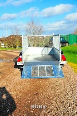 Nugent General Purpose Trailer Twin Axle 2000KG 8'2 X 4'2