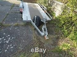 PEITZ Twin Axle Braked Car/Vehicle Transporter Trailer, Very Good Condition, S. H