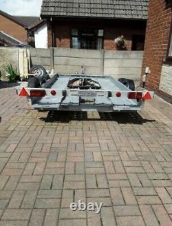 PRG, Twin Axle Car Trailer/ Car Transporter In Excellent Condition