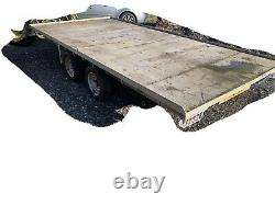 Page 14ft Twin Axle Car Trailer, Iforwilliams, indespension
