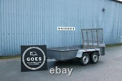 Plant Trailer Twin Axle With Loading Ramp