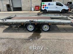 Prg twin axle car transporter trailer 3500kg