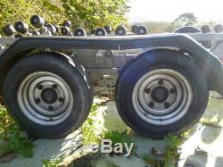 SBS twin axle boat trailer