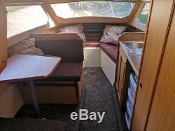 Shetland 4+2 Cruiser/Boat. Mariner 90hp Outboard & SBS Twin axle Trailer