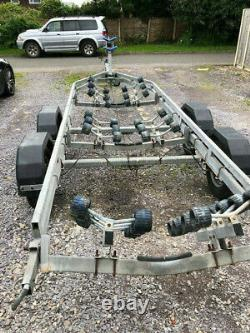 Snipe Twin Axle Boat Trailer 7.5 Metre in Good Condition
