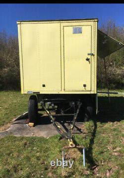 Storage Glamping Trailer Project Shephards Hut Heavy Duty Twin Axle Trailer