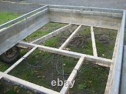 TFM Engineering Ltd Twin Axle Plant Trailer Ideal Winter Restoration Project