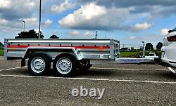 TWIN AXLE CAR TRAILER 8'7 x 4'1 750 kg