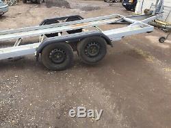 Tilting Car Transporter Trailer 3000kl twin axle
