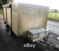 Tipper trailer Buffalo Tipping 3.5t 3500kg Twin Axle Gardener Tree Log Business