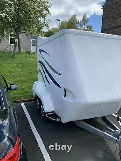 Tow-A-Van twin axle box trailer indespension