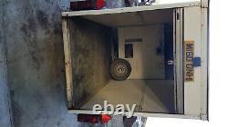 Tow a van twin axle box trailer