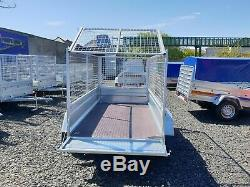 Trailer 7,7 x 4,2 twin axle tipping with 80cm mesh £1100