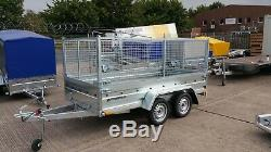 Trailer 9x4 Twin Axle 750kg Cage Trailer