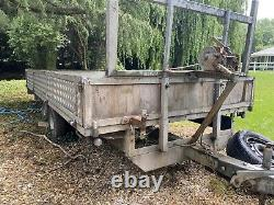 Trailer Twin Axle Flatbed