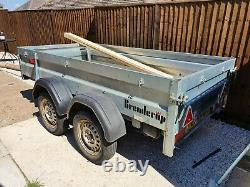 Trailer, Twin Axle With Drop Down front and Back