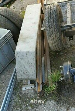 Trailer twin axle parts project