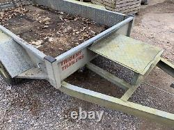 Trident Plant Trailer With Ramp 8/4 Twin Axle