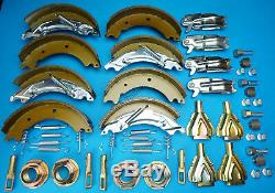 Twin Axle 200x50 KNOTT Type Trailer Brake Shoe & Service Kit HB505 IFOR WILLIAMS