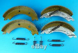 Twin Axle 200x50 KNOTT Type Trailer Brake Shoes & Cables Kit HB505 IFOR WILLIAMS