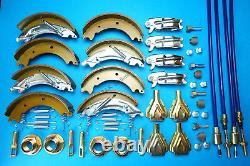 Twin Axle 200x50 Trailer Brake Shoe & Cable Kit for Knott on HB505 IFOR WILLIAMS
