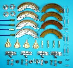 Twin Axle 250x40 Trailer Brake Shoe & Cable Kit for LM146G 3,500kg IFOR WILLIAMS