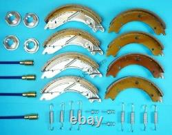Twin Axle 250x40 Trailer Brake Shoe & Cable Kit for LM146G 3500kg IFOR WILLIAMS