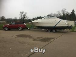 Twin Axle Boat Trailer 3500kg ELR4 RO-RO
