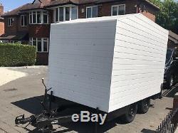 Twin Axle Box/Events Trailer