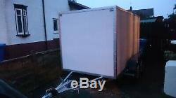 Twin Axle Box Trailer 10ft x 5ft (1.5m x 3m) Al-ko Chassis