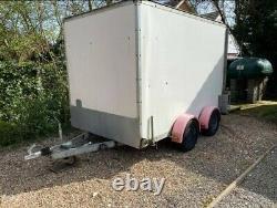 Twin Axle Box Trailer 2000kg