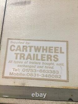 Twin Axle Box Trailer, Motor Bike, Catering