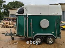 Twin Axle Braked Horse Trailer Nancy Cheval Leicestershire