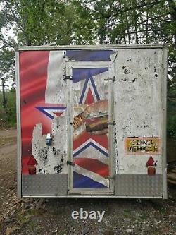 Twin Axle Burger Van Trailer Project