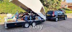 Twin Axle Car Race / #Motorcycles / ATV Braked trailer 2019 No VAT