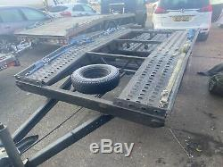 Twin Axle Car Transport Recovery Trailer Alko Boro 2700kg 550kg Unladen