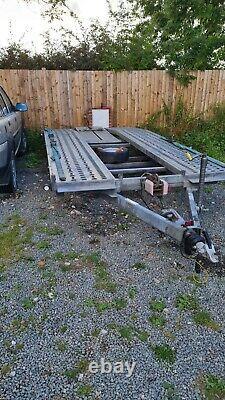 Twin Axle Car Transporter Trailer 3500kg