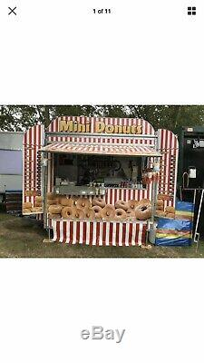 Twin Axle Donut Trailer/Business All Equipment & Stock Ready To Start Trading