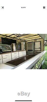 Twin Axle Mobile Burger Catering Food Van Trailer
