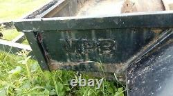 Twin Axle Plant Trailer 8x4