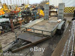 Twin Axle Plant Trailer With Fold Down Ramp Price Inc VAT