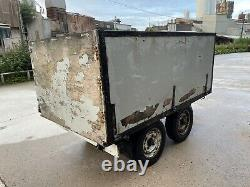 Twin Axle Tipping Trailer 7x4 Project Spares Repairs Box Off Road Camping