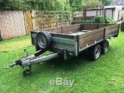 Twin Axle Trailer. Wessex. 10x 6, 2750kg