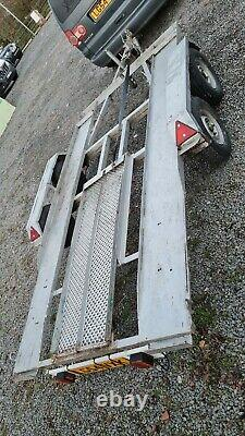 Twin Axle Transporter Trailer, Kit Car, Mower, Digger, Go Car, Motorbike
