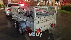 Twin Axle trailer 750kg tipping trailer