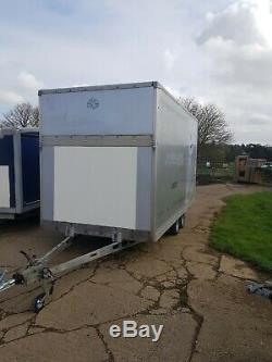 Twin axle Luton Box trailer
