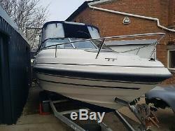 Twin axle boat trailer